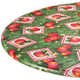 Apple Patch Vinyl Elasticized Table Covers by Home-Style Kitchen