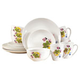 Avalyn 16pc Ceramic Dinnerware Set