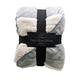 Reversible Berber Velvet Plush Luxury Throw