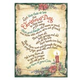 Bless Those We Love Christmas Card Set of 20 Plain