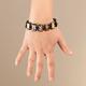 Genuine Hematite Angels Bracelet