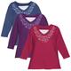 Winter 3/4 Sleeve Floral V-Neck Shirt