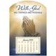 Mini Magnetic Calendar Praying Hands