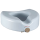 Antimicrobial Locking Raised Toilet Seat