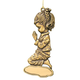 Personalized Bronze Girl Ornament