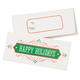 Christmas Money Card Holder Set of 12