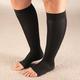 Celeste Stein Open Toe Compression Socks, 15-20 mmHg