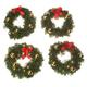 Mini Lit Wreath Set
