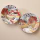 Country Folk Display Plates Set of 2