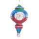 Personalized Retro Glittered Reflector Ornament