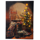 Doug Knutson Lighted Country Christmas Canvas by Holiday Pea