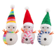 Color-Changing Snowmen, Set of 3