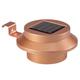 Copper Solar Gutter Light