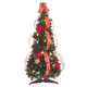 3' Red Poinsettia Pull-Up Tree by Holiday PeakTM