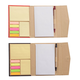 Memo Book with Sticky Notes Set of 2
