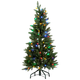 4' Pre-Lit Tree with C6 Bulbs by Holiday PeakTM