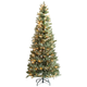 6' Pre-Lit Blue Spruce Tree by Holiday PeakTM