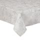 Shimmering Snowflake Metallic Table Cloth