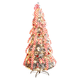 6' Snow Frosted Candy Cane Pull-Up Tree by Holiday PeakTM