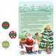 Personalized Christmas Letter from Santa with Stickers 2017