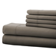Hotel 5th Ave. 6pc Microfiber Sheet Set - Gray