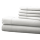Hotel 5th Ave. 6pc Microfiber Sheet Set - White
