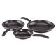3 Piece Ceramic Fry Pan Set