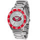 Mens NFL Sparo Key Silver Watch
