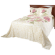 Helen Chenille Bedspread/Sham Full by OakRidge