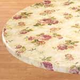 Rose Elastic Round Tablecloth