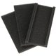 Home Exterior Cleaning Pole Replacement Pads, Set of 3