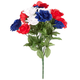 Patriotic Rose Bush Bouquet by OakRidgeTM