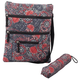 Quilted Crossbody Bag with Umbrella