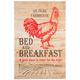 Farmhouse Bed & Breakfast Wall Art