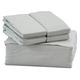 6-Piece 1800 TC Cotton Rich Sheet Set