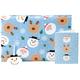 Whimsical Christmas Flat Wrap Kit FREE GIFT