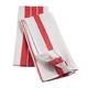 Big & Thirsty Red Stripe Kitchen Towels Set/2