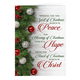 Peace, Hope, Christ Christmas Card Set of 20 Card and Envelope Personalization