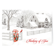 Thinking of You Christmas Card Set of 20 Card Only Personalization