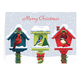 Festive Friends Christmas Card Set of 20 Card and Envelope Personalization