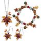 Autumn Leaf Jewelry Set of all 3