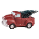 Resin Vintage Truck with Lighted Tree