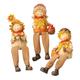 Scarecrow Shelf Sitters, Set of 3