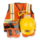 Melissa & Doug Personalized Construction Worker Costume Set