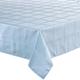 Microfiber Tablecloth, 60 Inch, Light Green