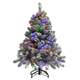 4' Color-Changing Flocked Tree Holiday PeakTM