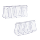 4-Pocket Mesh Laundry Bags, Set of 2