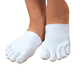 Silver StepsTM Closed Toe Gel Socks