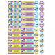 Personalized Colorful Celebrations Labels and Seals 60