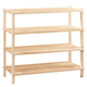 Wooden Shoe Rack by LivingSURETM